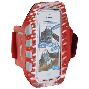 Brazalete deportivo para iPhone 5/5S, (Rojo)