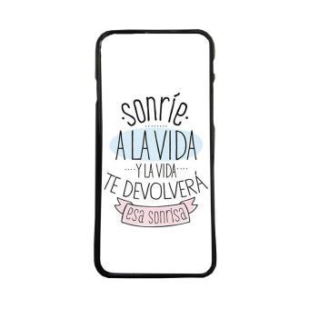 3cadd0180d5 Carcasa para móvil de TPU,compatible con iPhone 5c frases graciosas sonrie  - Fundas y carcasas para teléfono móvil - Los mejores precios | Fnac