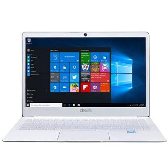 "PC Portátil Cenava P14 14.0"""" Windows 10 6GB+512GB HDMI Dual WiFi Notebook, Blanco"