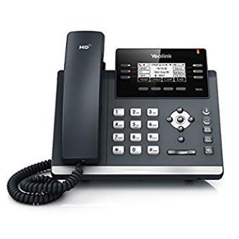 Yealink T42g - Teléfono Voip, Color Negro y Platateléfono Voip