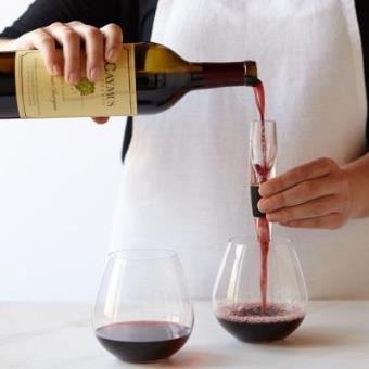 Aireador de vino portatil