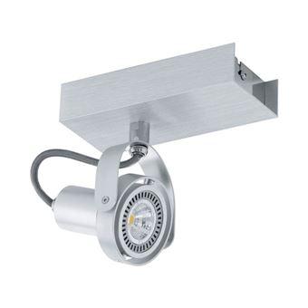 Lámpara de techo Eglo, de LED con un foco de aluminio, Novorio 94642