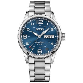 7d30970ab889 Reloj Hombre Hugo Boss PILOT ACERO 1513329 - Reloj pulsera - Los mejores  precios