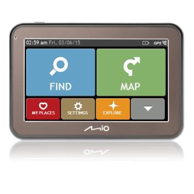 Navegador GPS Mio Spirit 5400 LM