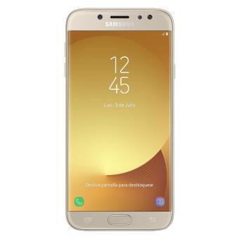 Teléfono Móvil Samsung GalaxyJ7(2017) J730FN LTE 16GB Dual Sim Gold