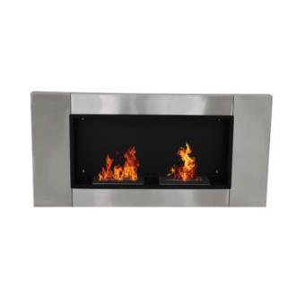 chimenea pared bioetanol xxu cm acero inox estufa etanol quemadores los mejores precios en fnaces