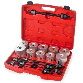 herramientas para montaje/desmontaje de cojinetes/casquillos 27 piezas, Gris
