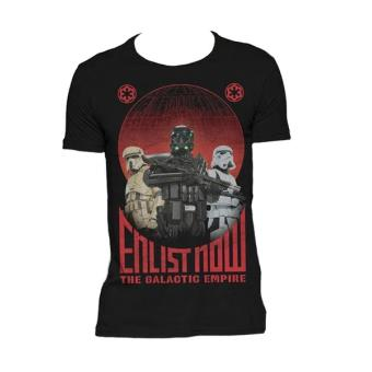 Camiseta Star Wars Rogue One Enlist Now, Talla XL