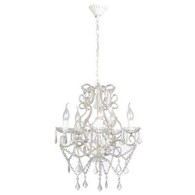 Lámpara de araña vidaXL, con 2800 cristales E14 vidaXL