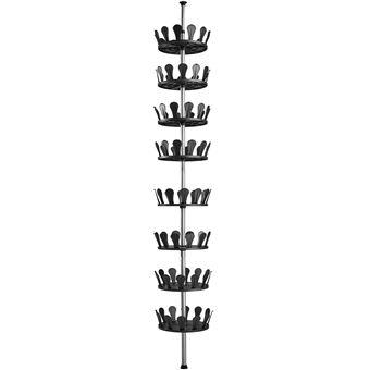 Carrusel para zapatos, Negro