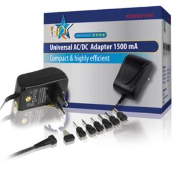 HQ Adaptador Universal Ca/Cc de 1500 mah