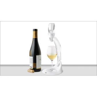 Aireador con soporte para vinos balncos