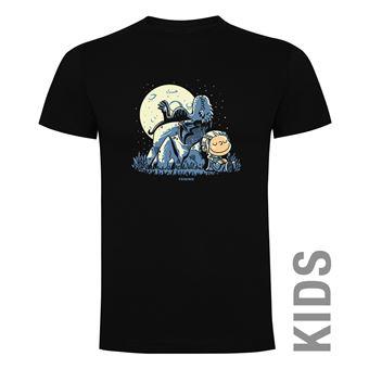 Camiseta manga corta Friking, Modelo 868 Juego de Tronos, Dragon peanuts, Talla 4 años, Negro