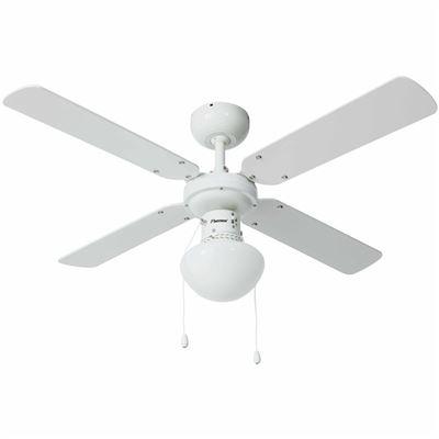Ventilador de techo Blanco Bestron, 102 cm 50 W DHB42W