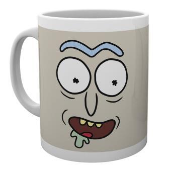 Taza Rick y Morty Cara de Rick