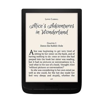 E-book Libro Electrónico Pocketbook Inkpad 3 Negro 7.8'' e ink Carta Smartlight Wifi 8gb y Microsd
