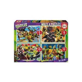 Tortugas ninja Multipuzzle 50,80,100,150 piezas