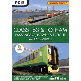 Class 153 and Totham - Passengers Power and Freight - add on for Railworks2 (pc) [importación Inglesa]