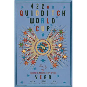 Póster Harry potter « quidditch world cup » (91.5x61)