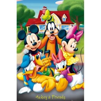Poster mickey mouse y amigos merchandising posters fnac - Mickey mouse et ses amis ...