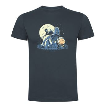 Camiseta manga corta Friking, Modelo 868 Juego de Tronos, Dragon peanuts, Talla L, Ebano