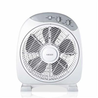 Ventilador de Suelo Haeger Home Wind 40W con diámetro de 30,5 cm