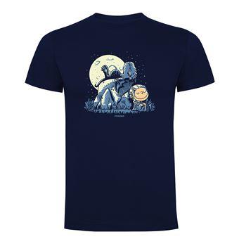 Camiseta manga corta Friking, Modelo 868 Juego de Tronos, Dragon peanuts, Talla L, Navy