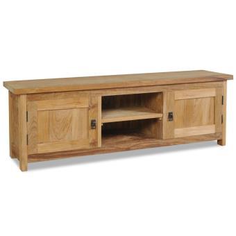 Mueble para tv vidaxl de madera maciza teca mueble - Muebles de madera teca ...
