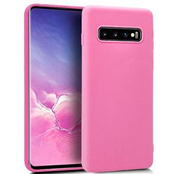 Funda Silicona Samsung G973 Galaxy S10 Rosa