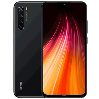 Xiaomi Redmi Note 8 4GB+128GB 48 MP, Negro