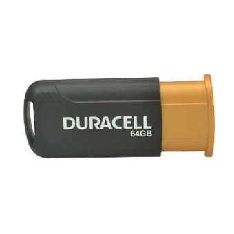 Duracell Drusb64pr 64gb USB 3.0 (3.1 gen 1) Type-a Negro, Naranja Unidad Flash USB - Pendrive / Memoria USB - Llave USB