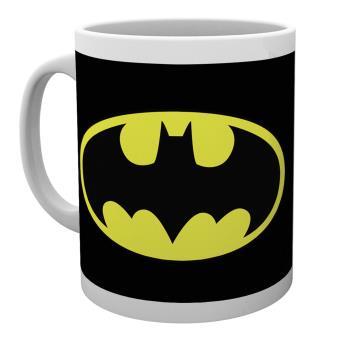 Taza Batman Comics Logo