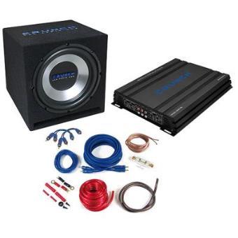 Amplificador para coche Crunch CBP1000 amplificador para coche
