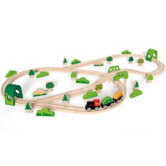 Juego de Ferrocarril Bosque E3713 Hape