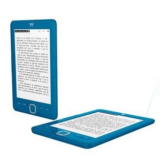 """Ebook Woxter Scriba 195 Blue, pantalla de 6"""" E-Ink, 4 Gb + Micro-SD"""