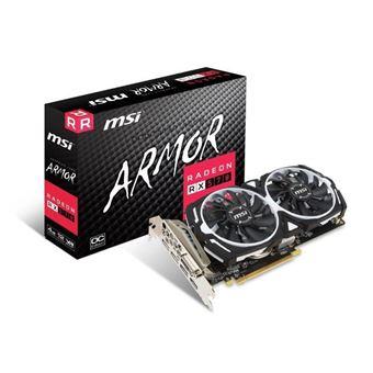 Tarjeta gráfica MSI Radeon RX 570 ARMOR 4G OC - 4 GB - GDDR5