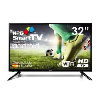 """Televisor NPG TVS420L32H 32"""""""" Smart TV HD LED wifi negro"""