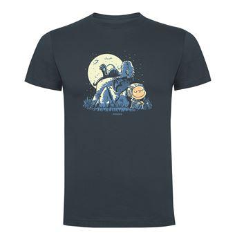 Camiseta manga corta Friking, Modelo 868 Juego de Tronos, Dragon peanuts, Talla M, Ebano
