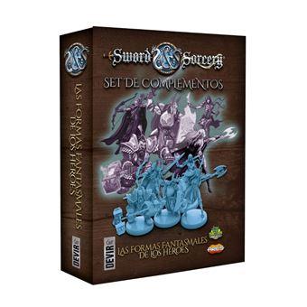 Juego de Mesa Sword and Sorcery Complementos: Las Formas Fantasmales de los Heroes