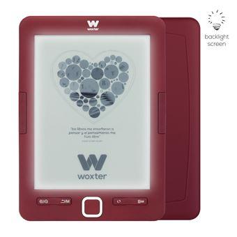 Libro electrónico Woxter Scriba 195 Paperlight Red con pantalla retroiluminada