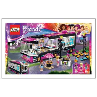 Lego 41106 Friends Pop Star Autobús Lego Los Mejores Precios