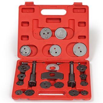 Conjunto de 22 piezas para reposicionar pistones de freno, Rojo