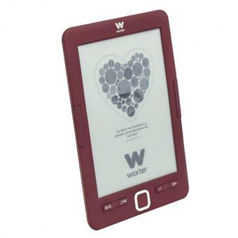 """Ebook Woxter Scriba 195 Red, pantalla de 6"""" E-Ink, 4 Gb + Micro-SD"""