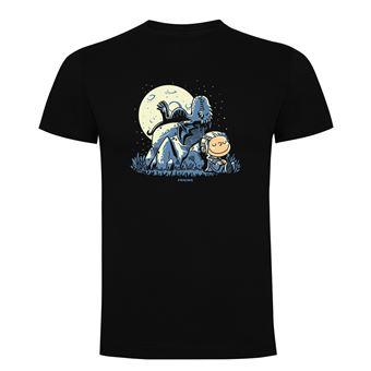Camiseta manga corta Friking, Modelo 868 Juego de Tronos, Dragon peanuts, Talla M, Negro