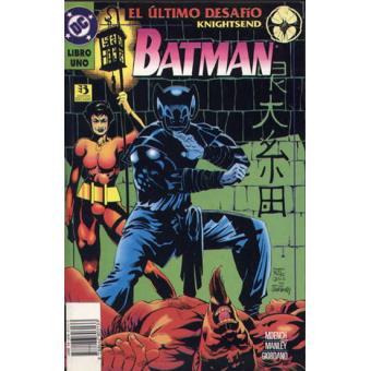 Batman El Último Desafío Libro Uno
