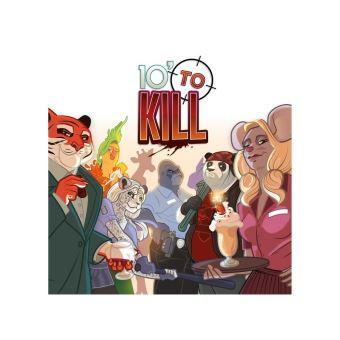 Juego De Mesa Zacatrus 10 To Kill Juegos De Tablero Los Mejores