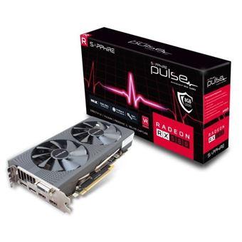 Tarjeta gráfica Sapphire AMD PULSE Radeon ™ RX 580 8GD5 - 8 GB - GDDR5