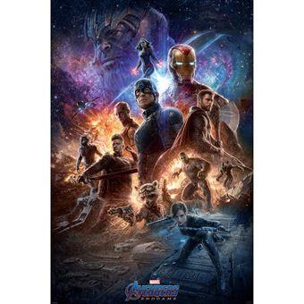 Póster Marvel Endgame (91.5x61)