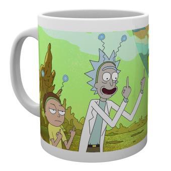 Taza Rick y Morty Paz