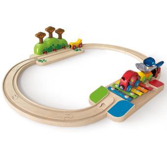 Mi Pequeño Juego de Ferrocarril E3814 Hape